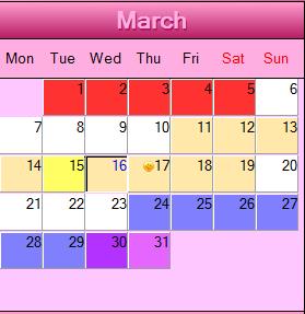 календарь зачатия рассчитать
