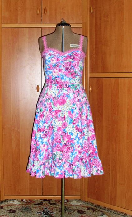 Платье из вискозы, как сшить