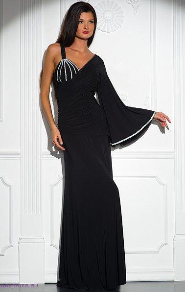 Платье сшить с одним рукавом